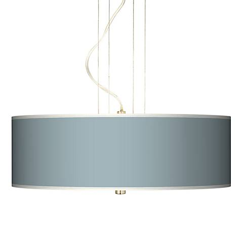 "Aqua Sphere 20"" Wide Three Light Pendant Chandelier"