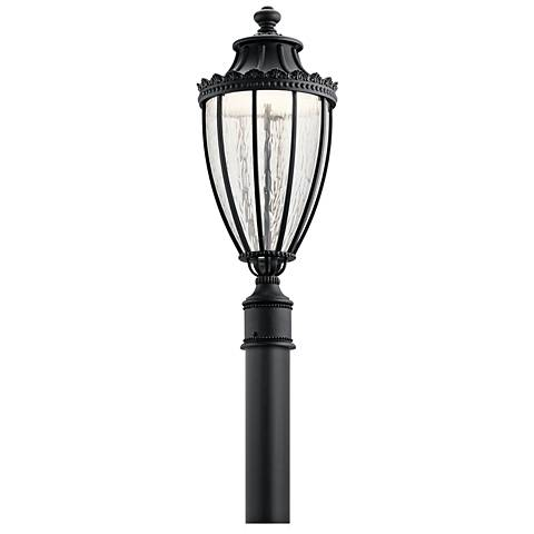 "Kichler Wakefield 25 1/2"" High Black LED Outdoor Post Light"