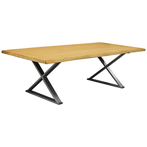 Brooklyn Large Maple Live Edge Dining Table