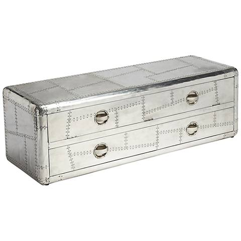 Butler Midway Aviator 2-Drawer Entertainment Console