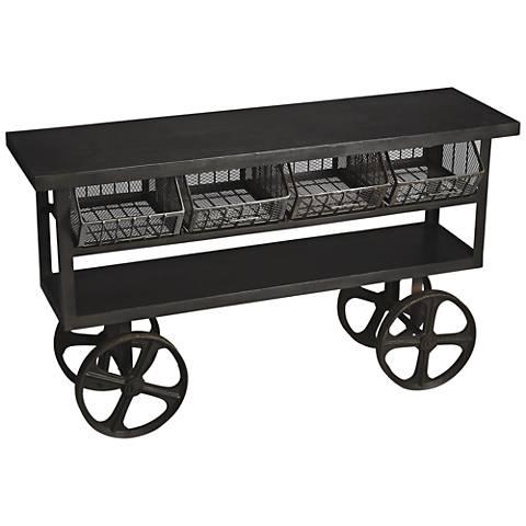 Butler Antietam Metalworks Cast Iron Trolley Buffet