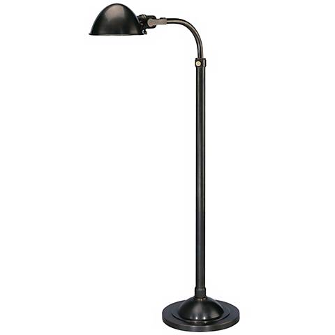 Alvin Patina Bronze Adjustable Pharmacy Floor Lamp