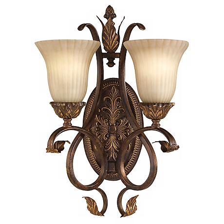 """Feiss Sonoma Valley 20"""" High Two Light Wall Sconce"""