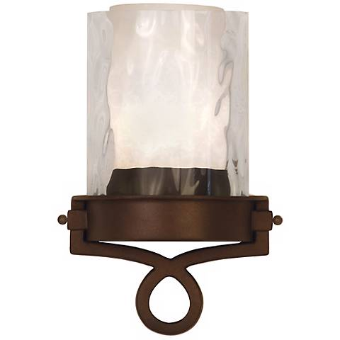 """Newport Collection Bronze 12 1/4"""" High ADA Wall Sconce"""