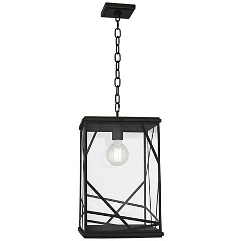 """Michael Berman Bond 19 3/4""""H Bronze Outdoor Hanging Light"""