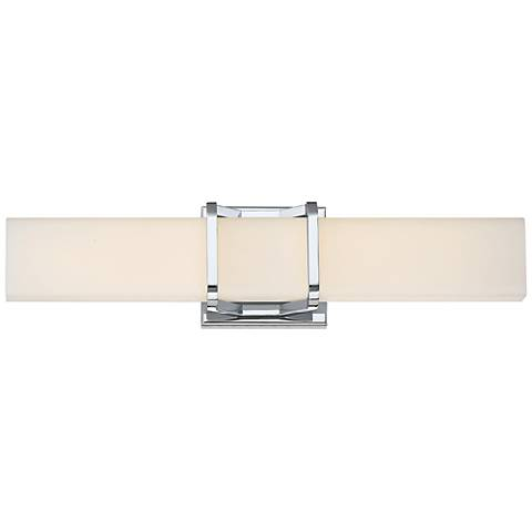 "Platinum Collection Axis 19 1/4"" Wide Chrome LED Bath Light"