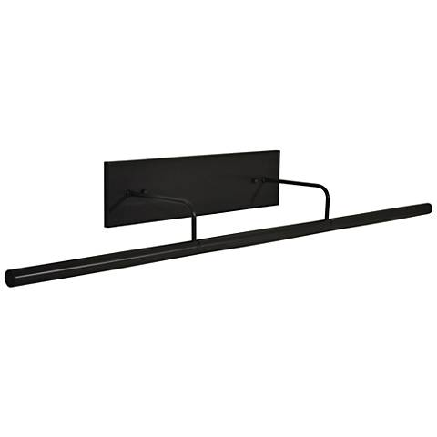 """Slim-Line 43""""W Rubbed Bronze Direct Wire LED Picture Light"""