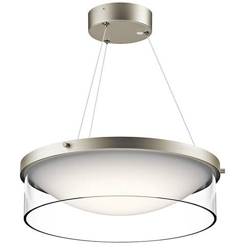 Artcraft Scandia 31 Quot Wide Brushed Nickel Pendant Light