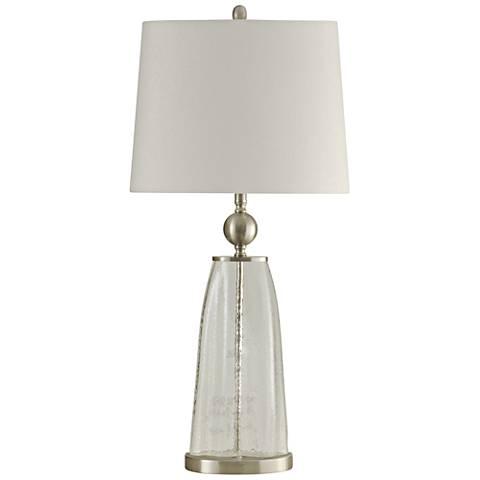 Polaris Clear Glass Table Lamp