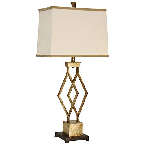 Lenor Gold Metal Table Lamp