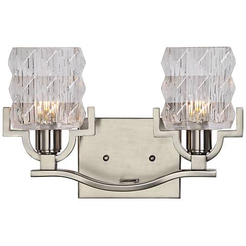 "Uttermost Copeman 9 1/4"" High Brushed Nickel Wall Sconce"