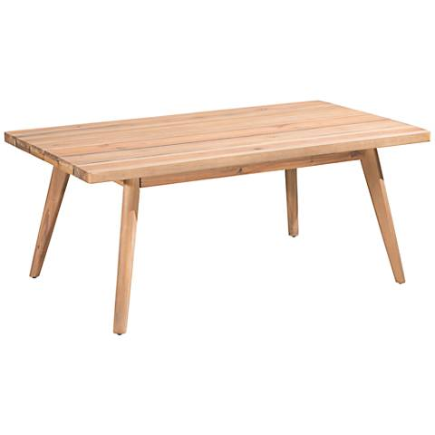 Zuo Grace Bay Natural Wood Outdoor Coffee Table
