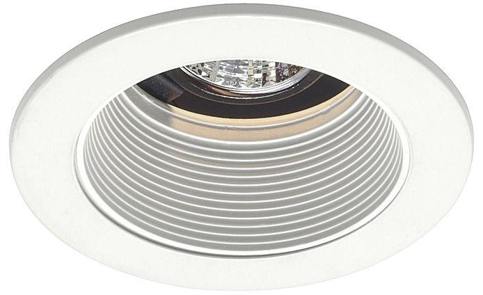 Juno 4  Low Voltage White Baffle Recessed Light Trim  sc 1 st  L&s Plus & Juno 4
