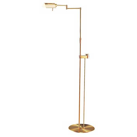 Holtkoetter Brushed Brass Pharmacy Floor Lamp