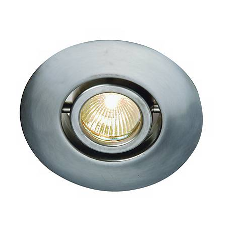"Juno 4"" Low Voltage Flush Gimbal Recessed Light Trim"