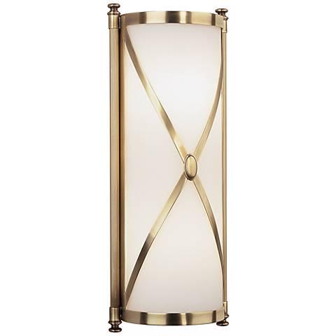 Robert Abbey Drexel 16 3 8 High Brass ADA Wall Sconce