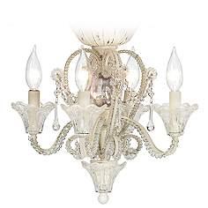 Ceiling Fan Light Kits   Lamps Plus:Pull Chain Crystal Bead Candelabra Ceiling Fan Light Kit,Lighting