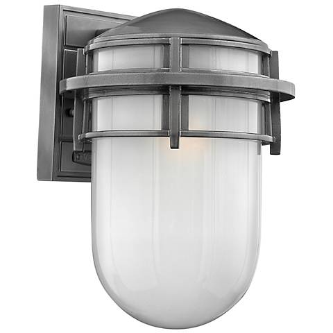 "Hinkley Reef Collection 12 3/4"" High Outdoor Wall Light"