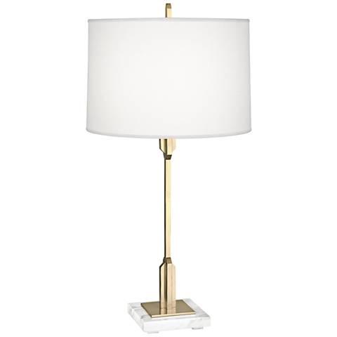 Robert Abbey Empire Modern Brass Table Lamp