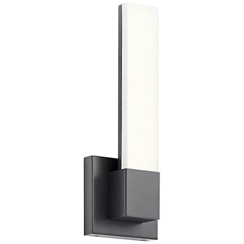 "Elan Neltev™ 14 1/2"" High Bronze 2-LED Wall Sconce"