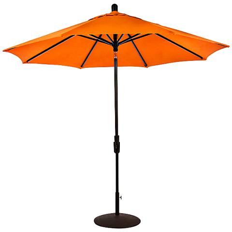 Zuma Shore 8 3/4-Foot Tuscan Sunbrella Patio Umbrella
