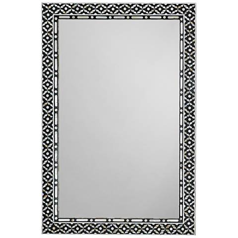 Evelyn Mother Of Pearl 24 Quot X 36 Quot Rectangle Wall Mirror