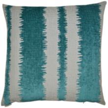 """Kamtra Aqua 20"""" Square Decorative Throw Pillow"""
