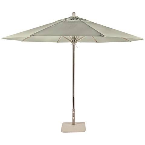 Newport Coast 10 3/4-Foot Natural Sunbrella Patio Umbrella