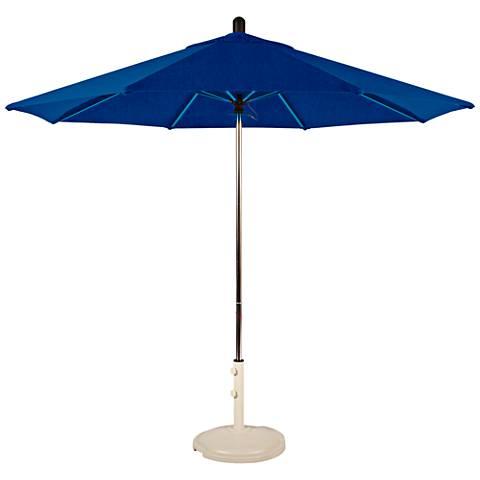 Santa Barbara 8 3/4-Foot Pacific Blue Patio Umbrella