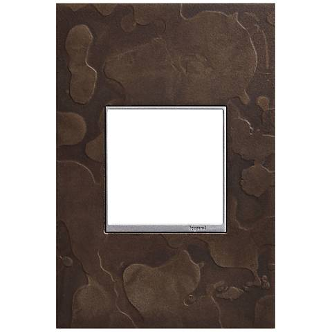 Hubbardton Forge Dark Smoke 1-Gang Wall Plate