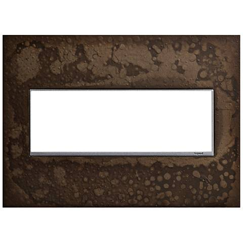 Hubbardton Forge Dark Smoke 3-Gang Wall Plate