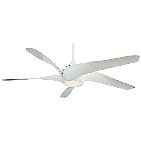 "62"" Artemis XL5 White LED DC Ceiling Fan"