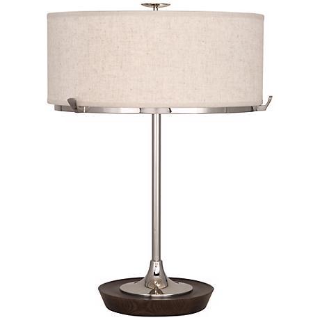 Robert Abbey Edwin Polished Nickel Table Lamp