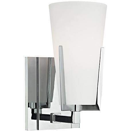 """Hudson Valley Upton 8 1/2"""" High Polished Chrome Wall Sconce"""