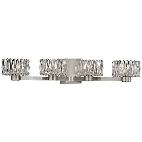 "Hudson Valley Anson 26 3/4"" Wide Satin Nickel Bath Light"