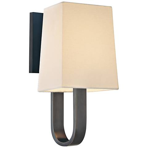 "Sonneman Cappio 11"" High Rubbed Bronze Wall Sconce"