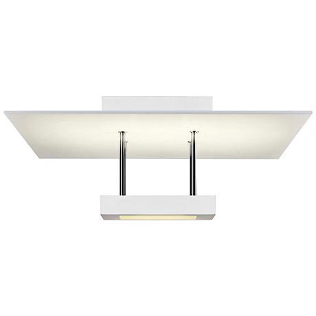 """Chromaglo™ 15""""W Bright White Square LED Ceiling Light"""