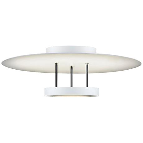 "Chromaglo™ 16""W Bright White Round LED Ceiling Light"