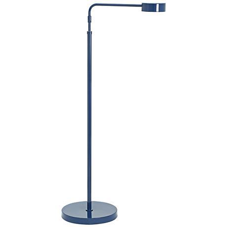 Generation Adjustable Navy Blue LED Floor Lamp