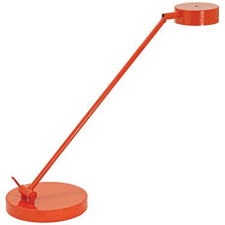 House of Troy Bittersweet Orange LED Desk Lamp