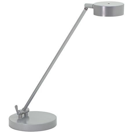 House of Troy Generation Platinum Gray LED Desk Lamp