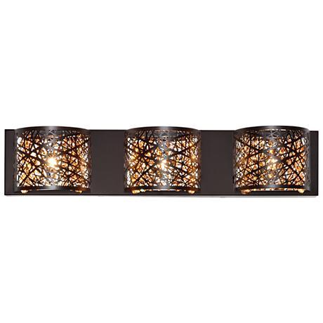 Et2 Inca 24 Quot Wide Bronze Bath Light 1d857 Lamps Plus