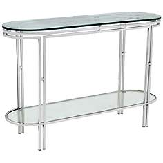 Glass Entryway Table glass, entryway, tables | lamps plus
