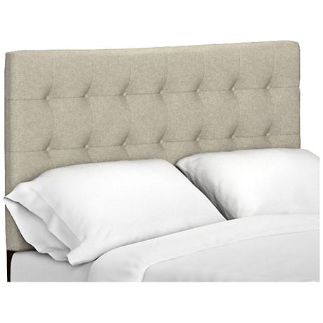 Byanca Barley Linen Upholstered Headboard