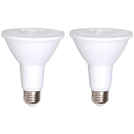 Bioluz 12 Watt LED 3000K Dimmable PAR30 Light Bulb 2-Pack