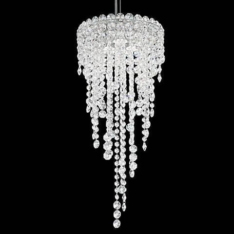 "Schonbek Chantant 3-Light 10 1/2"" Wide Crystal Mini Pendant"