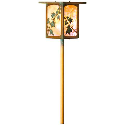 English Ivy Lantern Bottom Arm New Verde LED Path Light