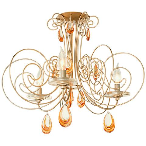 "Varaluz Elysse 20 3/4"" Wide Gold Dust Ceiling Light"