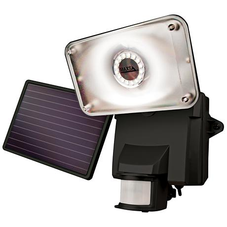 Solar Powered LED Floodlight with Security Camera