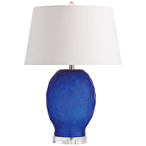 Arteriors Home Sybil Cobalt Blue Glass Table Lamp